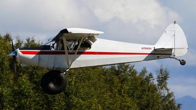 A picture of N7690H - Piper PA12 Super Cruiser - [12580] - © C. v. Grinsven