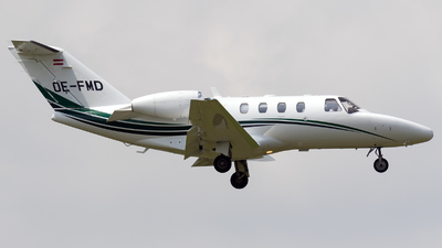 OE-FMD - Cessna 525 CitationJet 1 Plus - Austin Jet