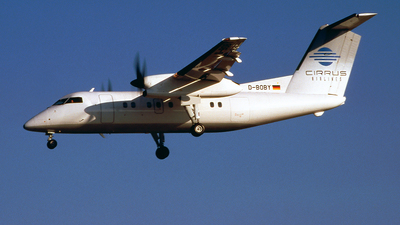D-BOBY - Bombardier Dash 8-102 - Cirrus Airlines