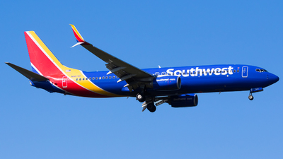 A picture of N8674B - Boeing 7378H4 - Southwest Airlines - © Martin Rogosz