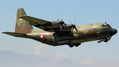 A-1303 - Lockheed C-130B Hercules - Indonesia - Air Force