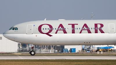 A7-AGA - Airbus A340-642 - Qatar Airways