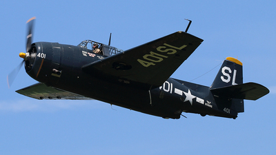 N9586Z - Grumman TBM-3E Avenger - Private