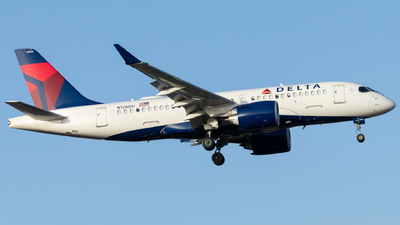 A picture of N126DU - Airbus A220100 - Delta Air Lines - © Luke Ayers