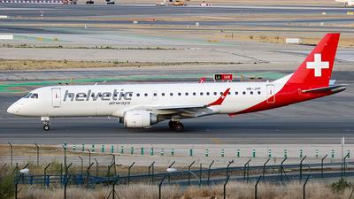HB-JVP - Embraer 190-100LR - Helvetic Airways