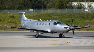 G-PCTW - Pilatus PC-12/47E - Private