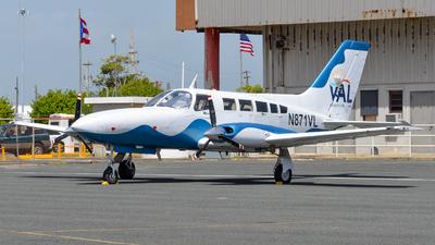 A picture of N871VL - Cessna 402C - Vieques Air Link - © Jose L Roldan