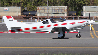 A picture of N89EB - Amateur Lancair 320 - [186] - © Weliang