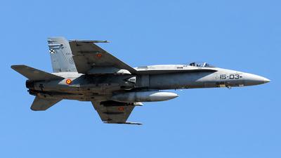 C.15-16 - McDonnell Douglas EF-18A+ Hornet - Spain - Air Force