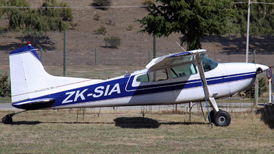 ZK-SIA - Cessna 185A Skywagon - Private