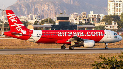 A picture of VTAMD - Airbus A320214 - AirAsia - © Rohan Paliwal