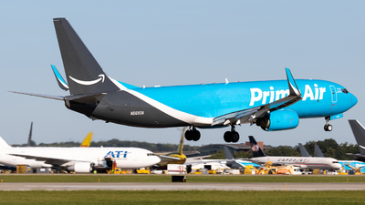 N5693A - Boeing 737-84P(BCF) - Amazon Prime Air (Sun Country Airlines)