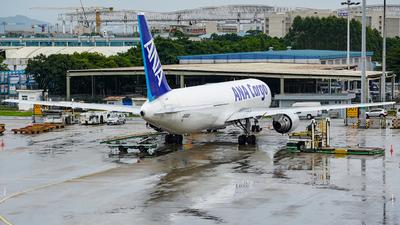 JA602F - Boeing 767-381F(ER) - ANA Cargo