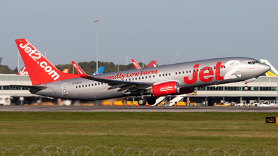 A picture of GGDFP - Boeing 7378Z9 - Jet2 - © Egccarchie