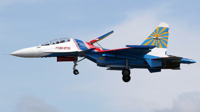 33 - Sukhoi Su-30SM - Russia - Air Force