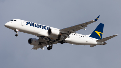 VH-UYN - Embraer 190-100IGW - Alliance Airlines