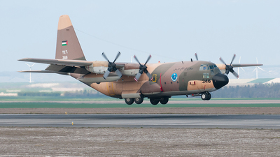 346 - Lockheed C-130H Hercules - Jordan - Air Force