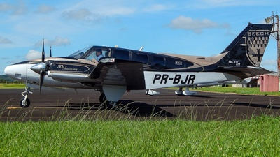 A picture of PRBJR - Beech G58 Baron - [TH2273] - © Evandro Filho