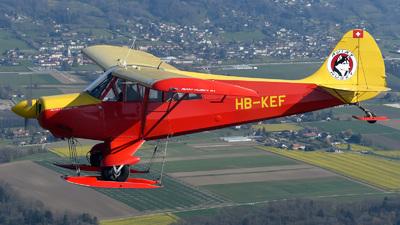 HB-KEF - Aviat A-1 Husky - Private