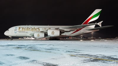 A6-EDT - Airbus A380-861 - Emirates
