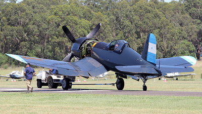VH-III - Chance Vought F4U-5N Corsair - Private