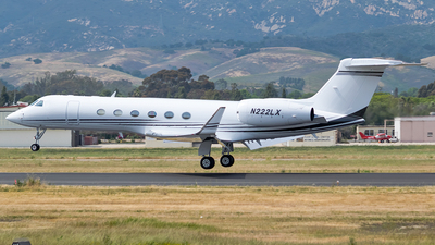 N222LX - Gulfstream G-V - Private