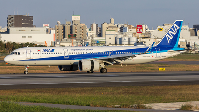 JA134A - Airbus A321-272N - All Nippon Airways (ANA)