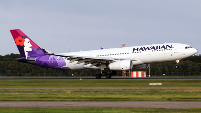 A picture of N393HA - Airbus A330243 - Hawaiian Airlines - © Peter Reading