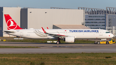 D-AVYU - Airbus A321-271NX - Turkish Airlines