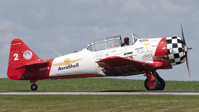 N3267G - North American SNJ-5 Texan - Aeroshell Aerobatic Team