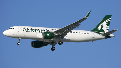 A7-LAA - Airbus A320-214 - Al Maha Airways