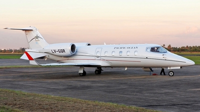 LV-GQR - Bombardier Learjet 60 - Pacific Ocean Private Flights
