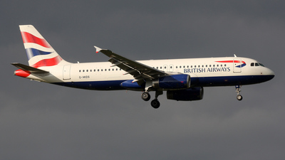 G-MIDS - Airbus A320-232 - British Airways