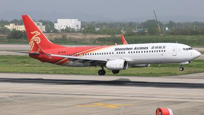 B-1518 - Boeing 737-87L - Shenzhen Airlines