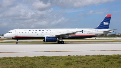 N557UW - Airbus A321-231 - US Airways