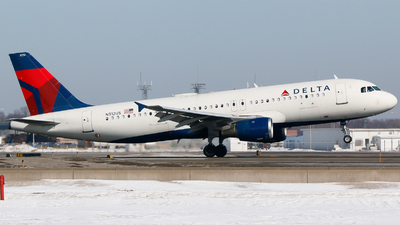 A picture of N312US - Airbus A320211 - Delta Air Lines - © Alec Mollenhauer