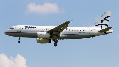 A picture of SXDVK - Airbus A320232 - Aegean Airlines - © Simi