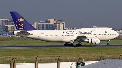 TF-AAL - Boeing 747-428 - Saudi Arabian Airlines (Air Atlanta Icelandic)