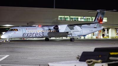 A picture of CGJZR - De Havilland Canada Dash 8400 - Air Canada - © Keeper1