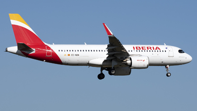 A picture of ECNDN - Airbus A320251N - Iberia - © András Soós
