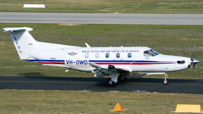 VH-OWD - Pilatus PC-12/47E - Royal Flying Doctor Service of Australia (Western Operations)