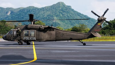 PNC-0612 - Sikorsky UH-60A Blackhawk - Colombia - Police