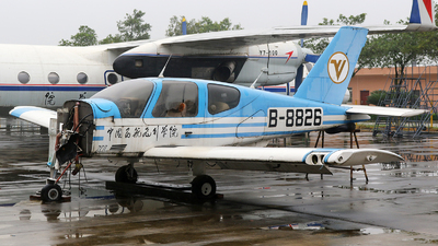 B-8826 - Socata TB-200 Tobago XL - China - Academy of Civil Aviation Science and Technology