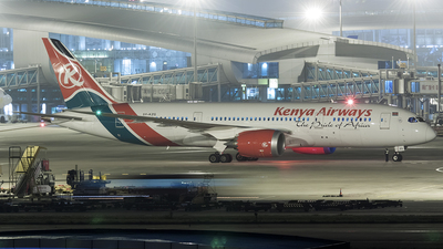 5Y-KZG - Boeing 787-8 Dreamliner - Kenya Airways