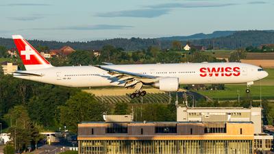 A picture of HBJNJ - Boeing 7773DE(ER) - Swiss - © Thierry Weber