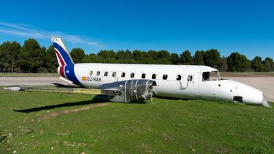 A picture of ECHAK - Embraer EMB120FC Brasilia - Swiftair - © Enrique Rubira