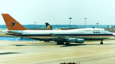 ZS-SAX - Boeing 747-444 - South African Airways