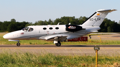 A picture of ECLDK - Cessna 510 Citation Mustang - Clipper Jet - © Simone Bertarini