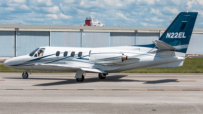 N22EL - Cessna 501 Citation - Private
