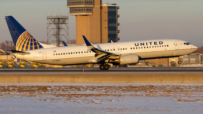 A picture of N73259 - Boeing 737824 - United Airlines - © Jeremy D. Dando